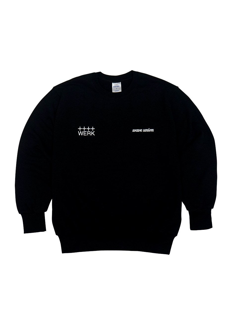 Roasting machine sweat shirt black