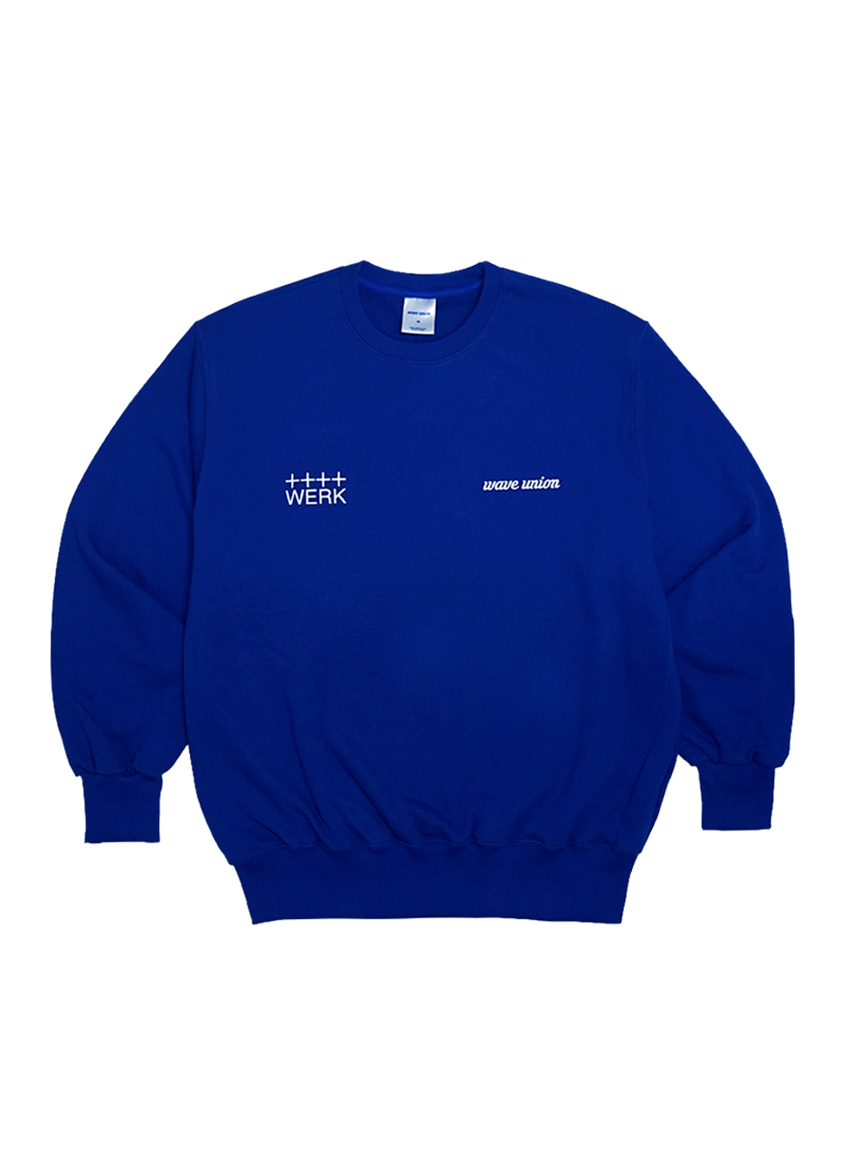 Roasting machine sweat shirt blue