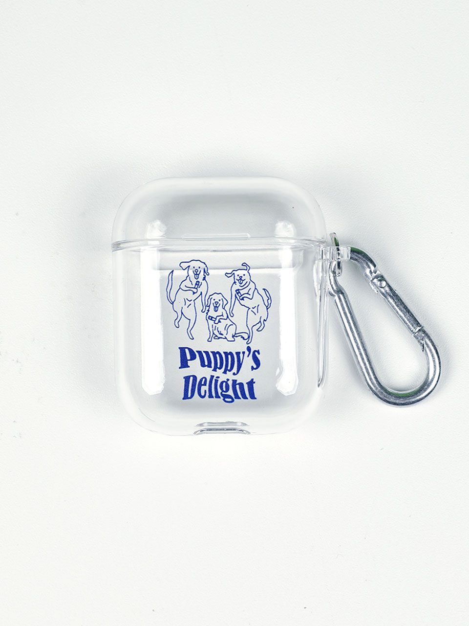 Puppy's delight AirPods case clear